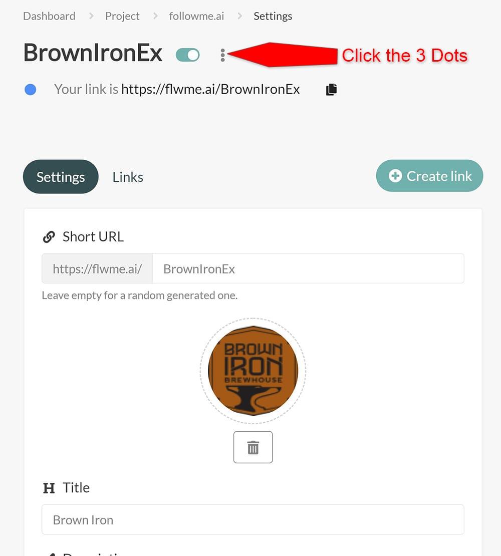followme QR Code BrownIronEx