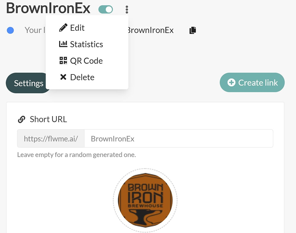 followme QR Code BrownIronEx2