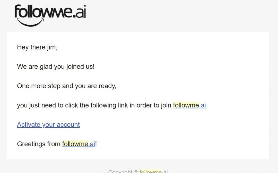 Verify Your FollowMe Bio Link Account