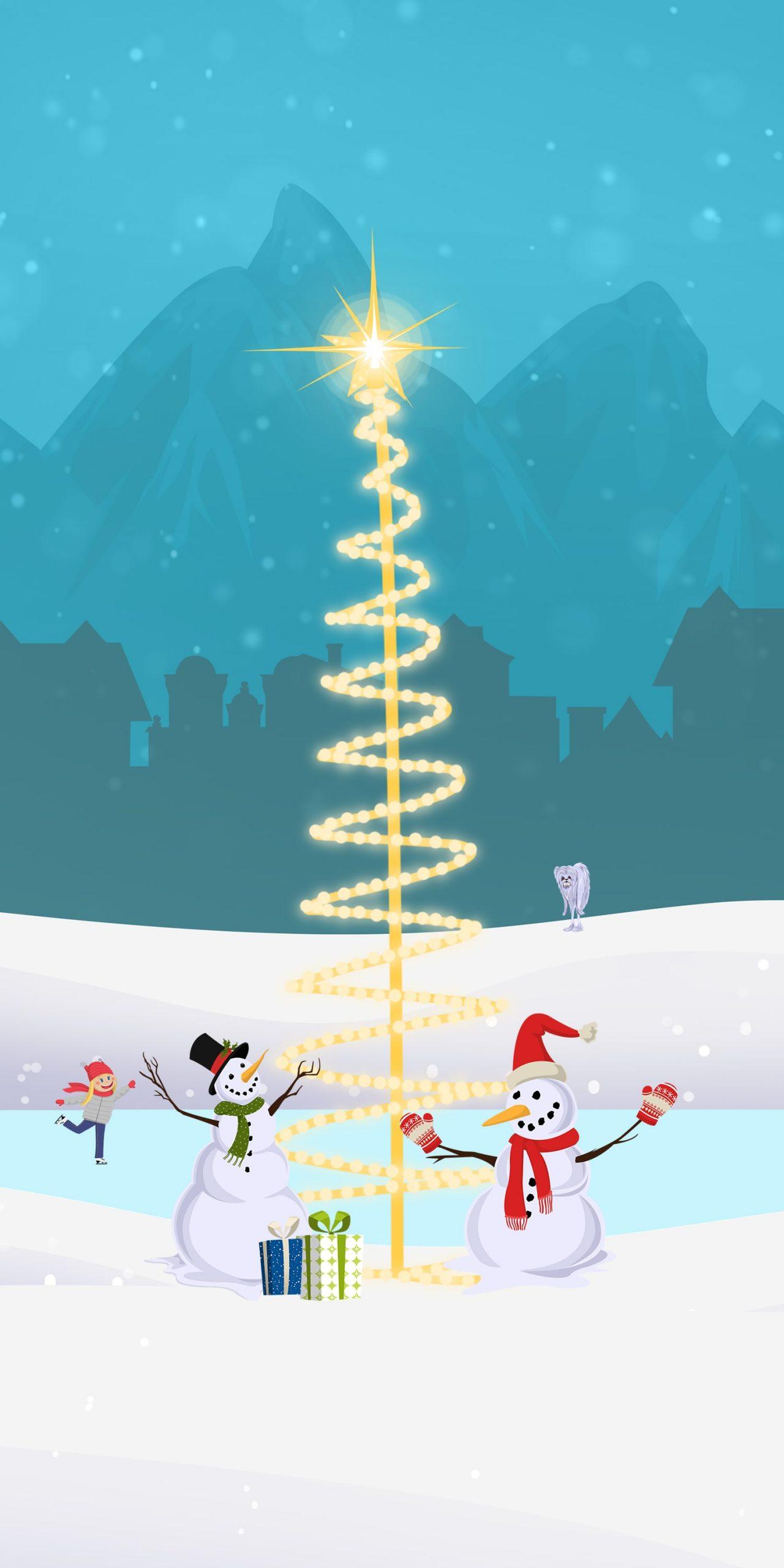 Snowmans Christmas BioLink